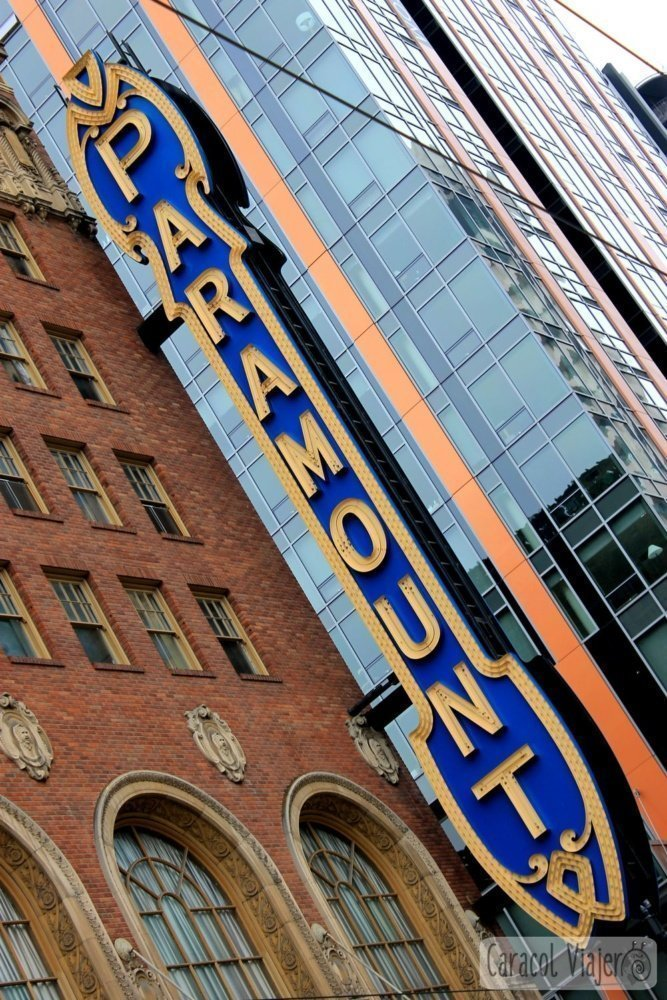 The paramount theatre - ruta grunge en Seattle