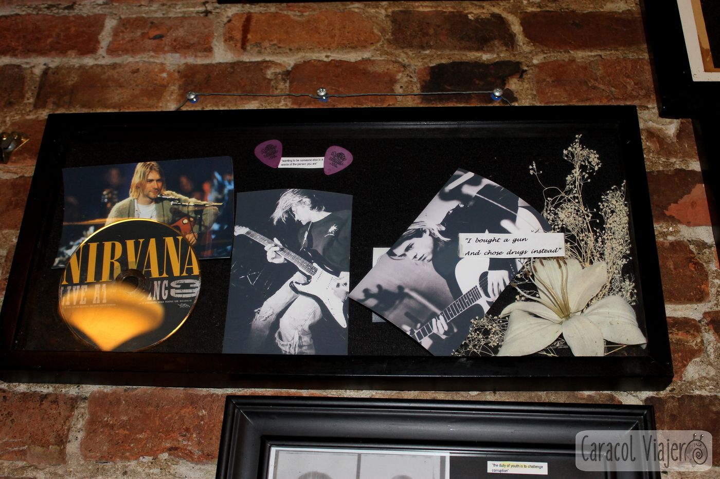 Memorabilia de Nirvana The Central