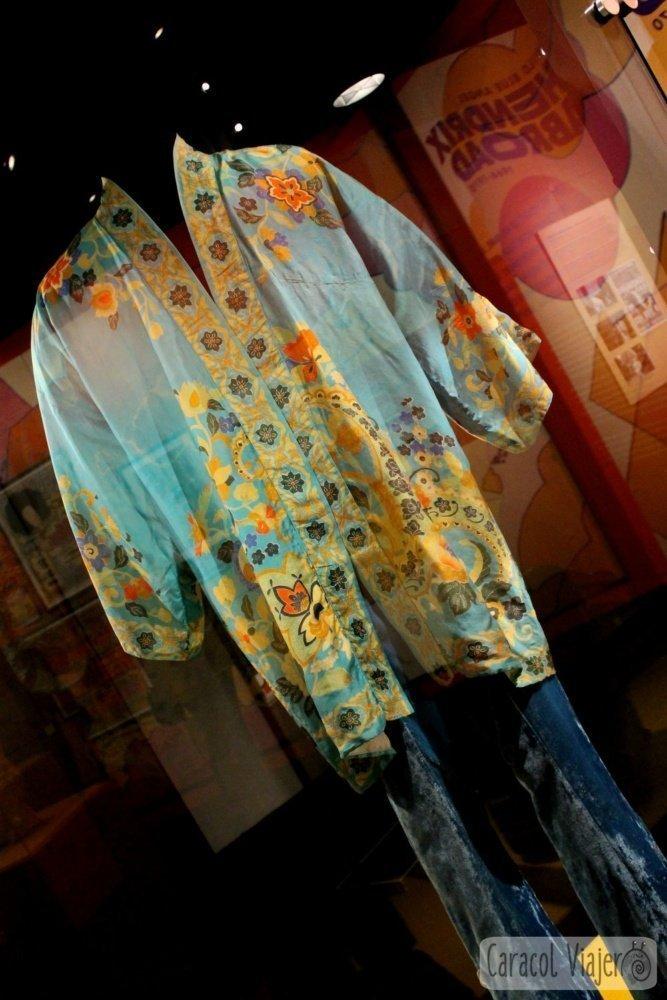 Hendrix indumentaria EMP museum