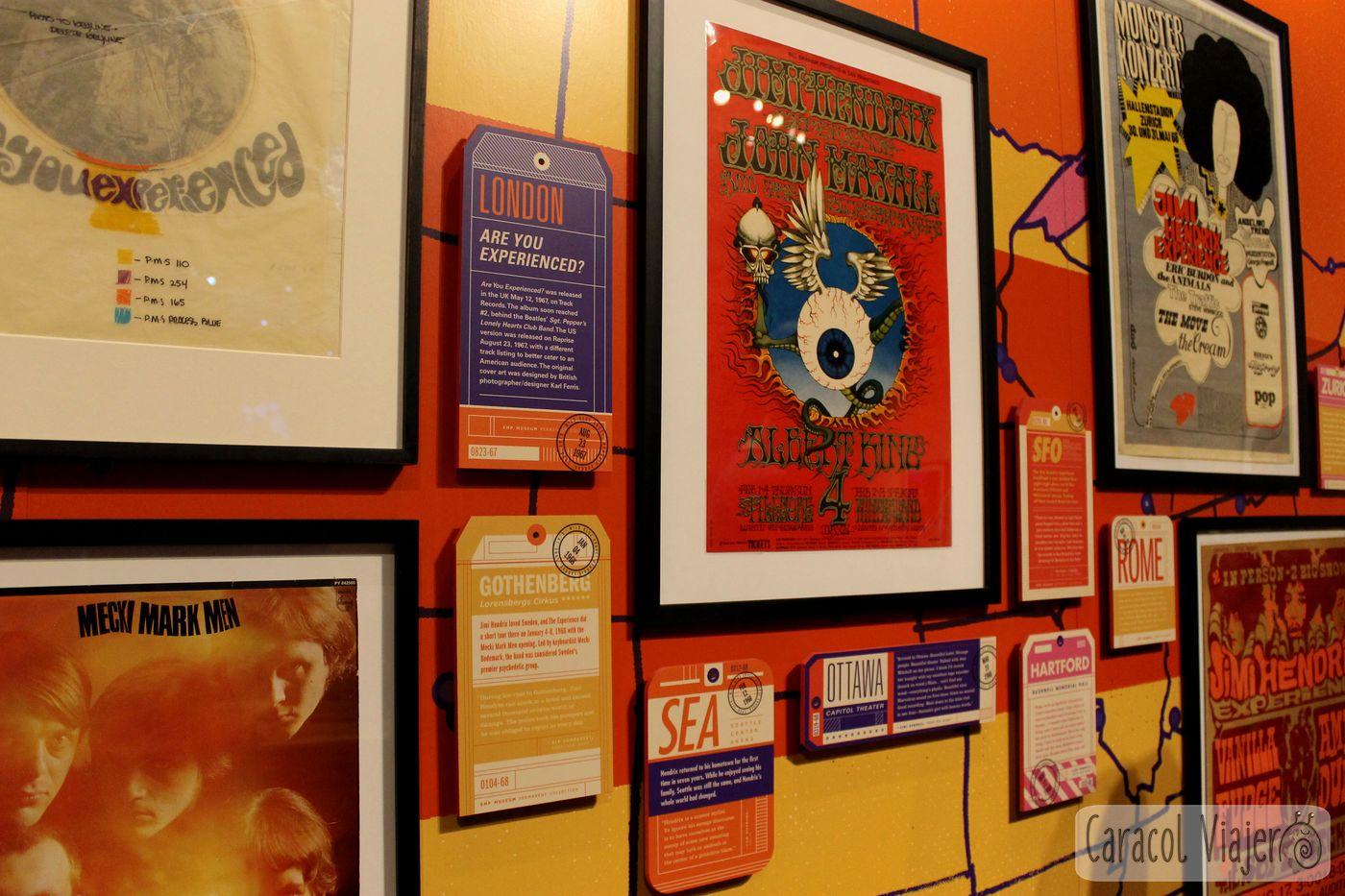 Hendrix Memorabilia EMP museum