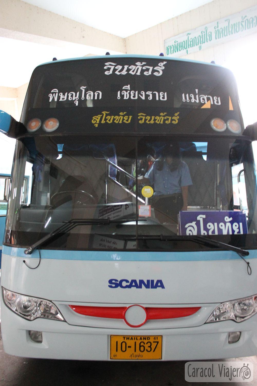 Bus a Sukhothai