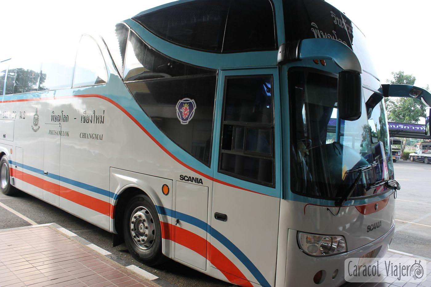 Bus Phitsanulok Chiang Mai