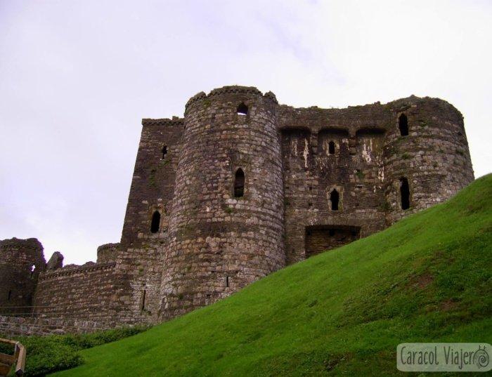 ¡4 de los 600 castillos de Gales!