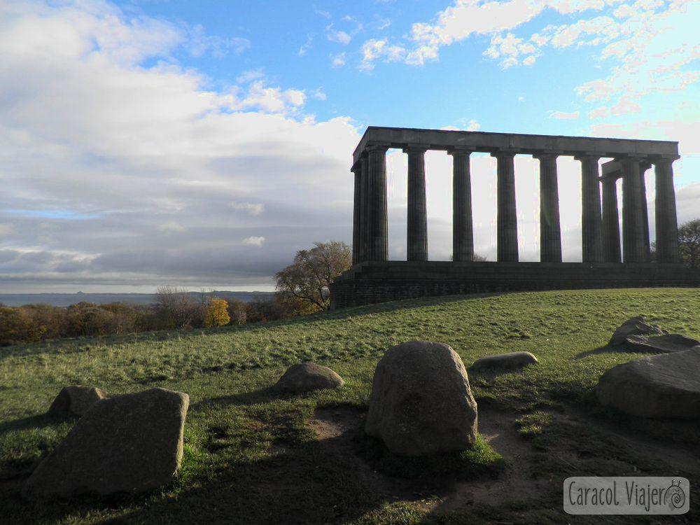 monumento nacional en Calton Hill