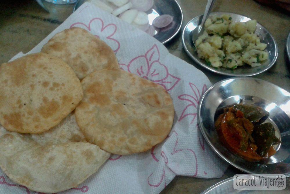Thali verduras en Haridward