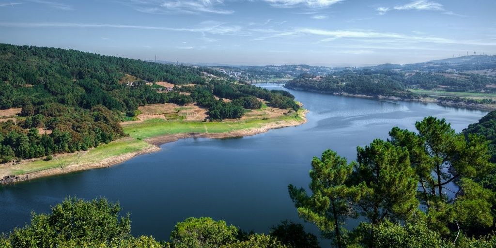 Portomarín en Galicia