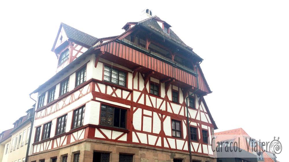 Casa Alberto Durero Alemania. Núremberg