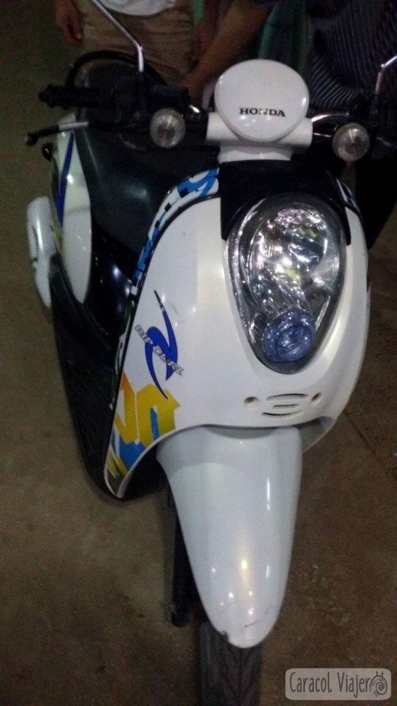 Moto Sukhothai - Alquiler