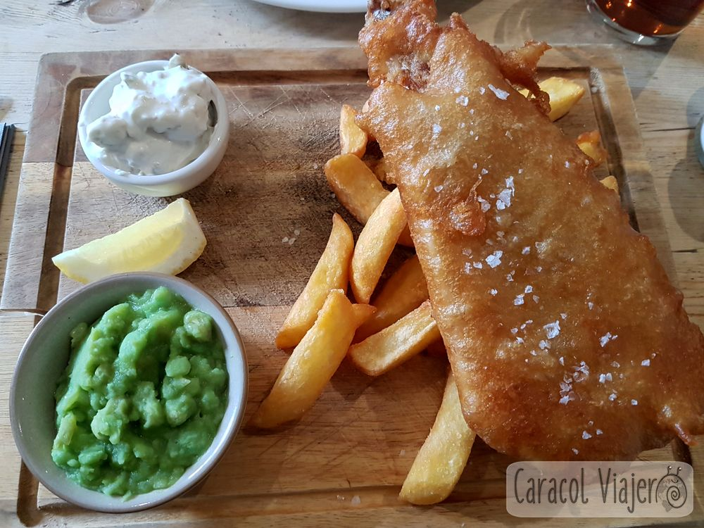 Fish and chips en Winchcombe