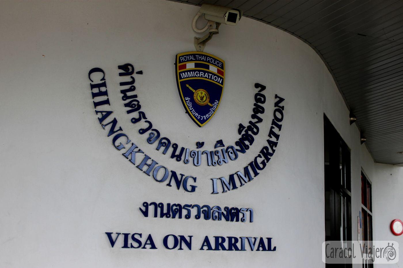 Inmigración Chiang Khong