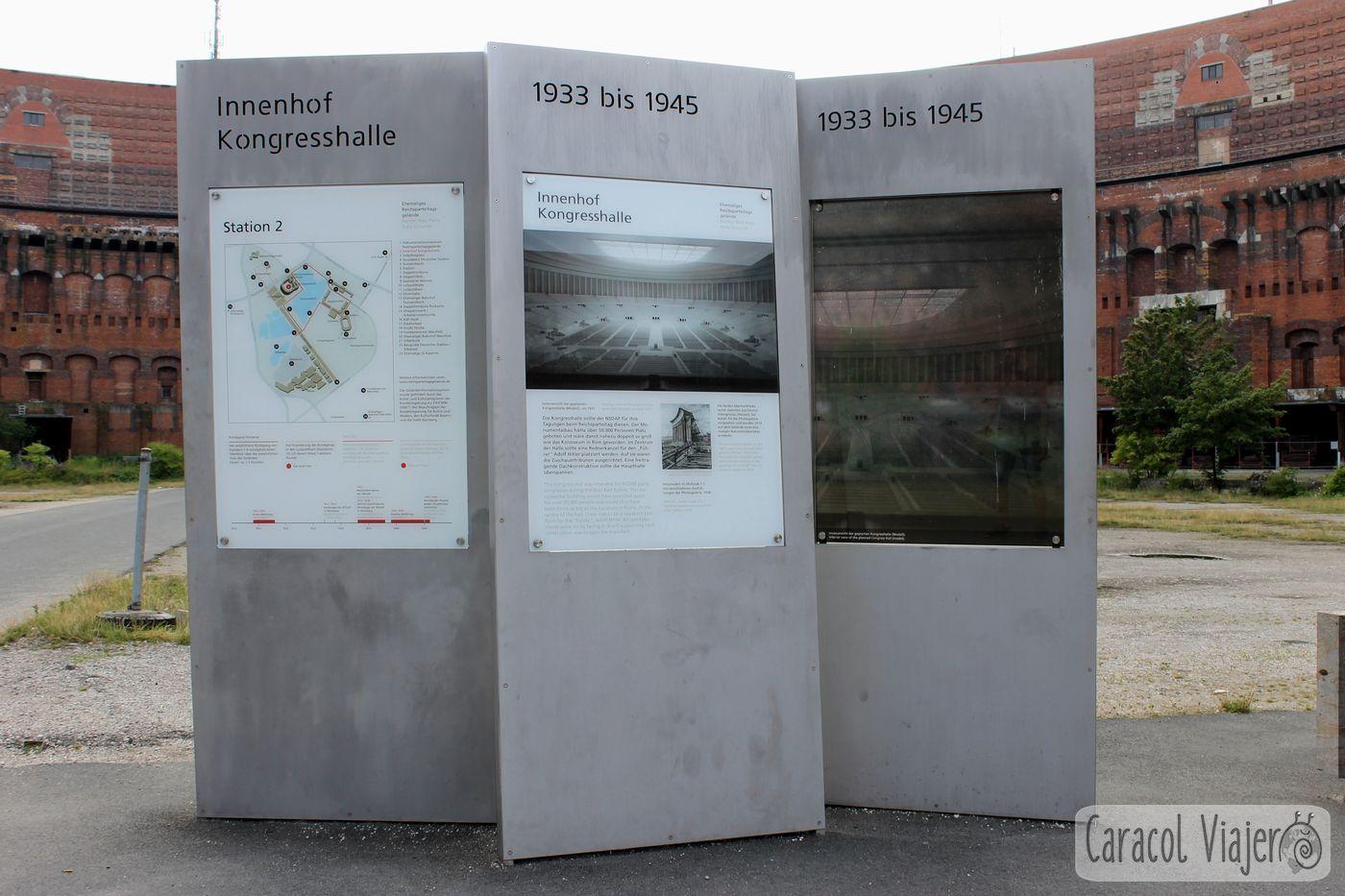 Kongresshalle información Núremberg