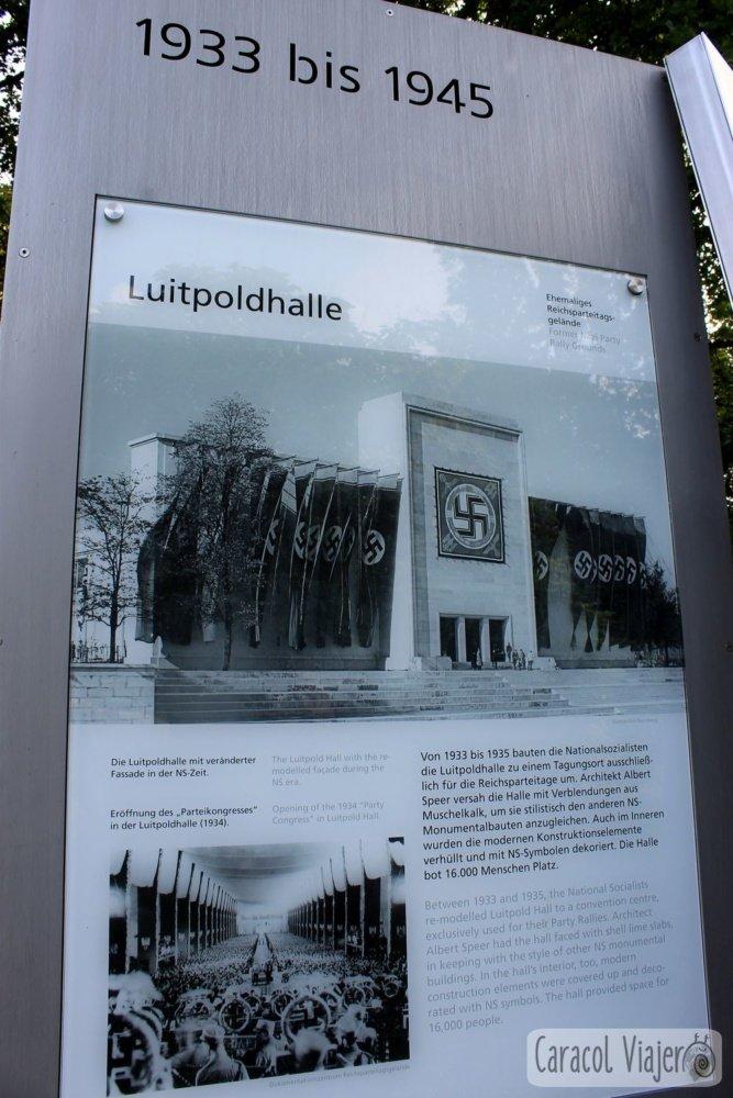 LuitpoldhalleLuitpoldhalle, Núremberg, Alemania cartel informativo