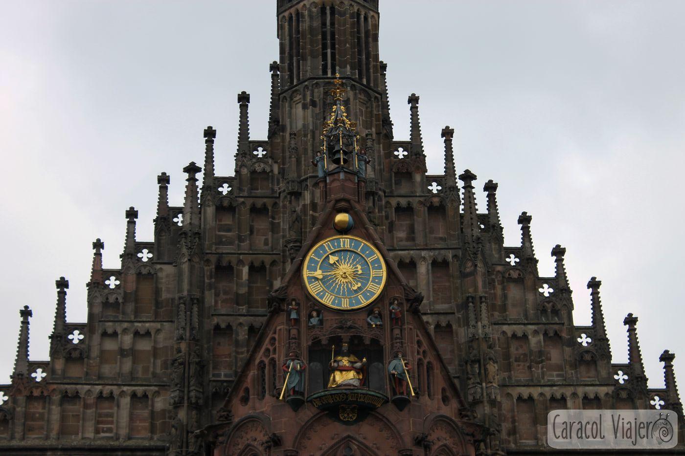 Reloj Frauenkirche, Núremberg