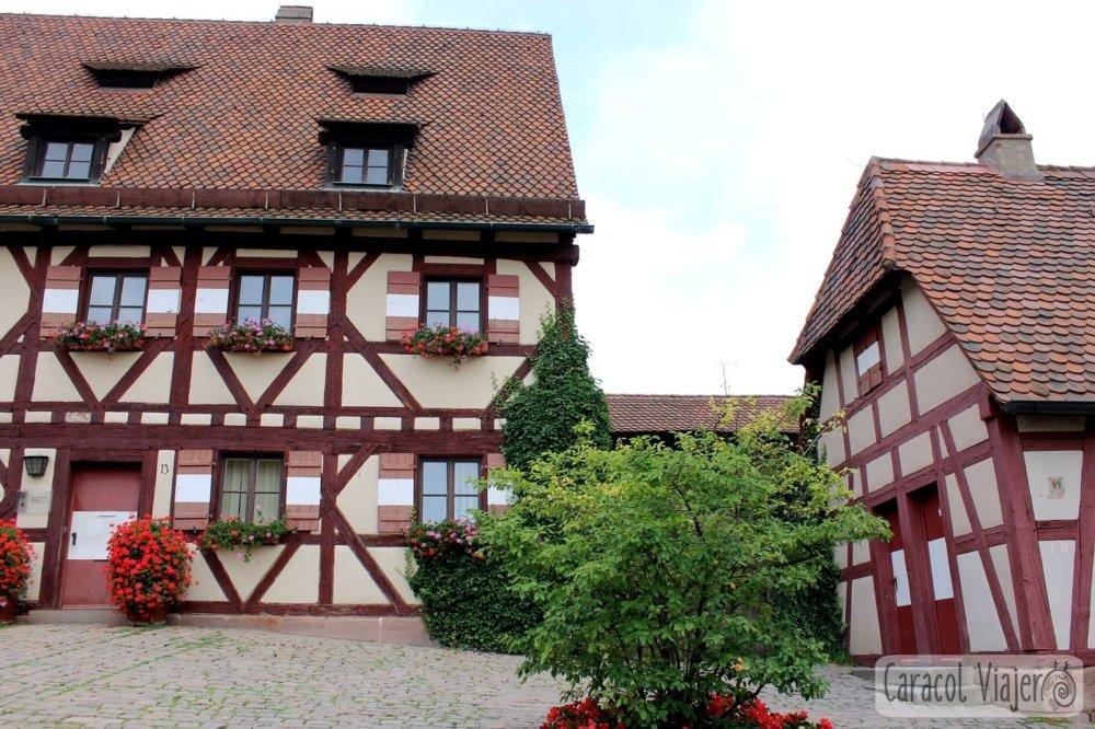 Casas típicas Núremberg