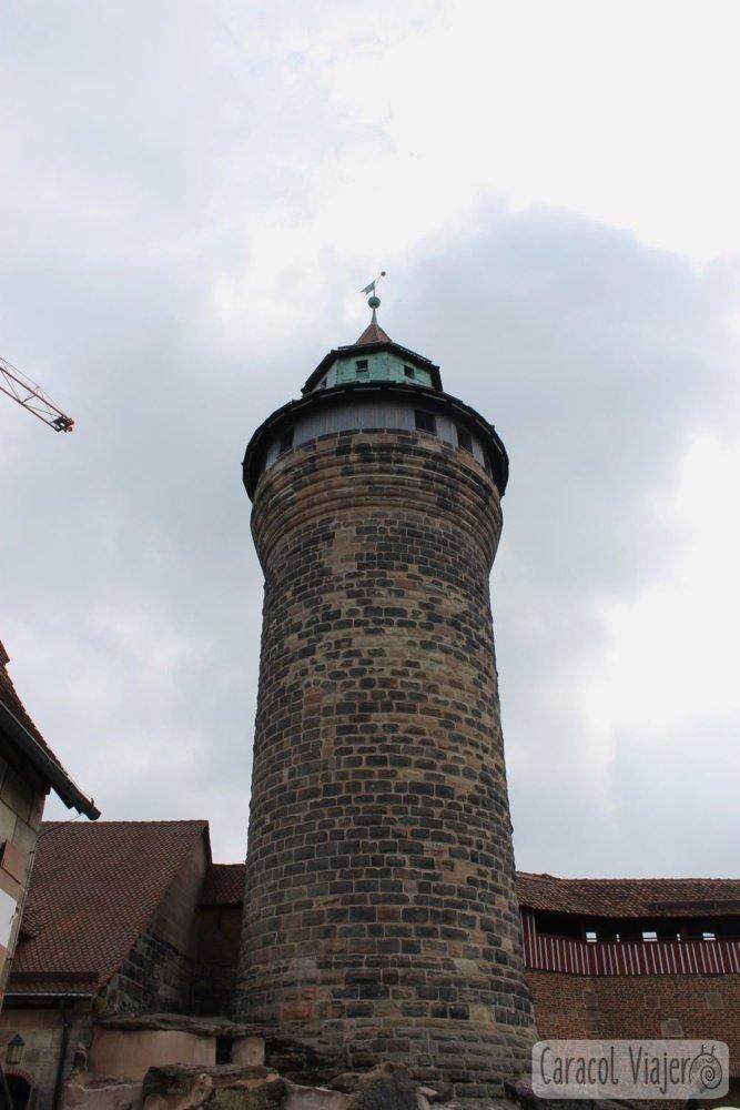 torre castillo Núremberg