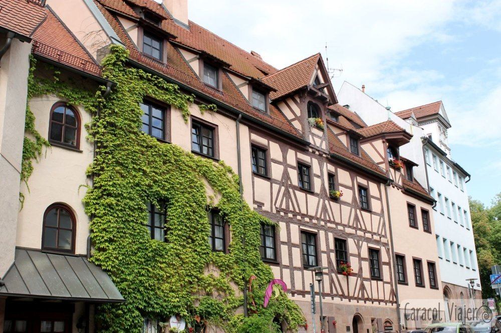 casas en Núremberg Alemania.