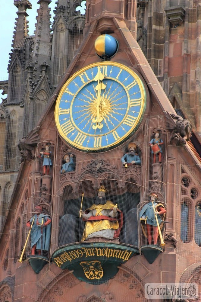 Reloj Frauenkirche, Núremberg 12.00