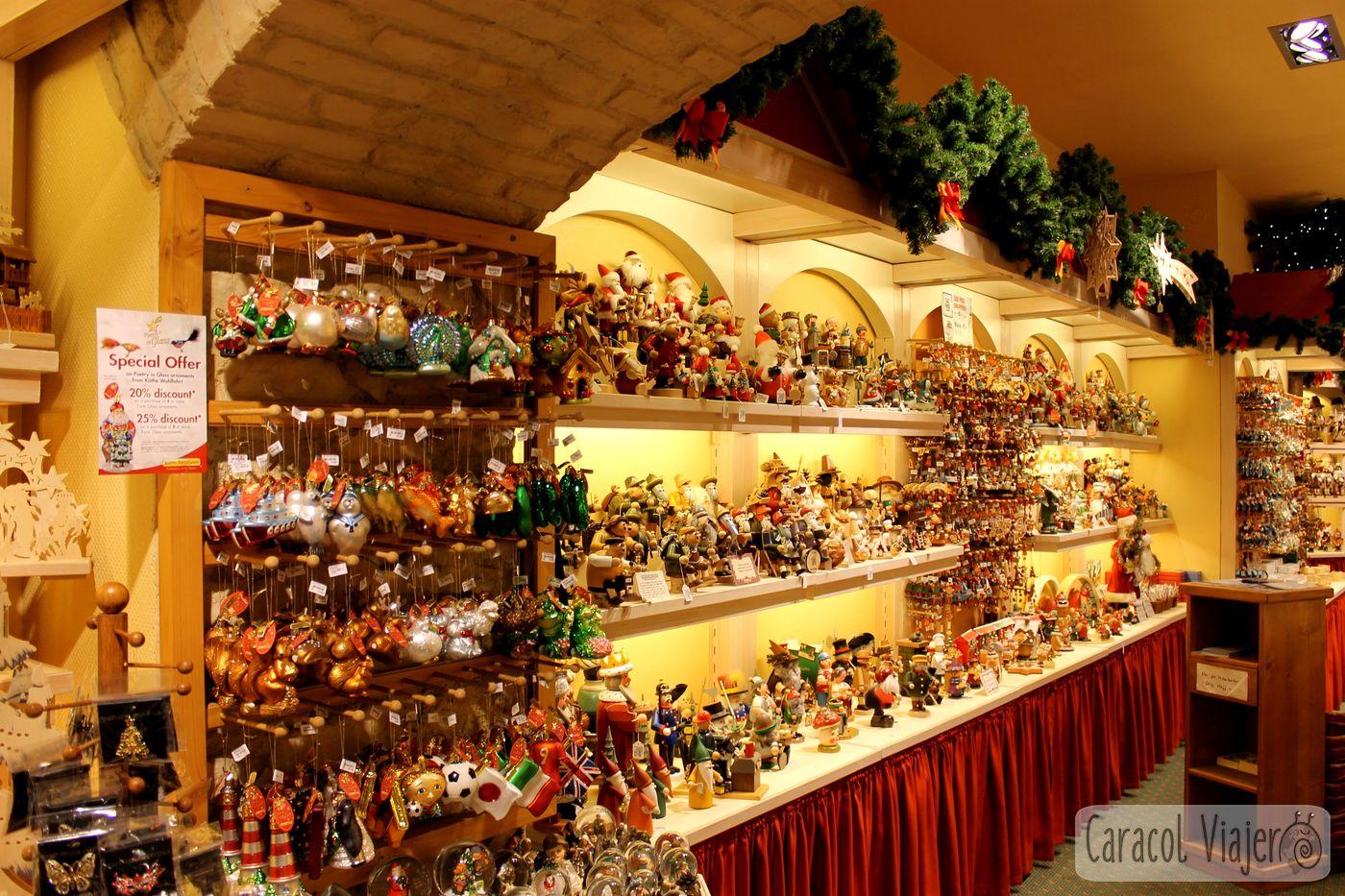 Tienda decoración navideña Núremberg