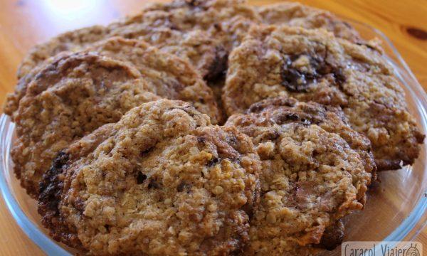 Galletas tejanas en 1 hora | Cowboy Cookies
