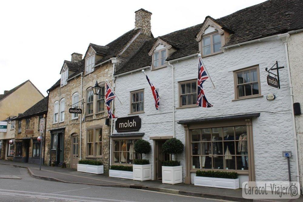 Tetbury, pueblo bonito de Cotswolds, Inglaterra, campiña inglesa