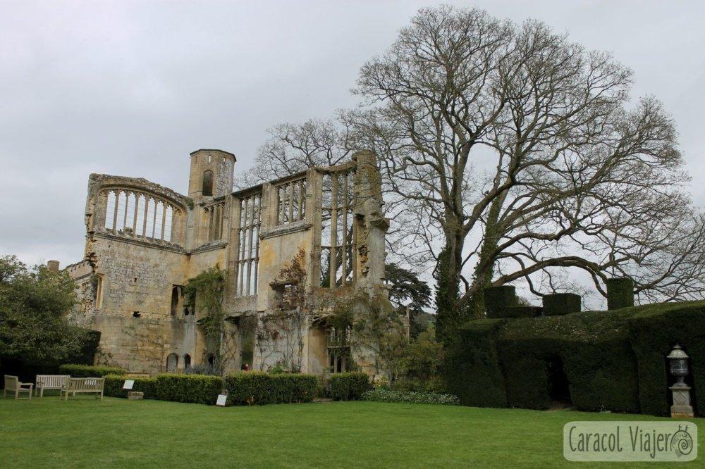 Castillo de Sudeley Tithe Barn, Cotswolds, Inglaterra.