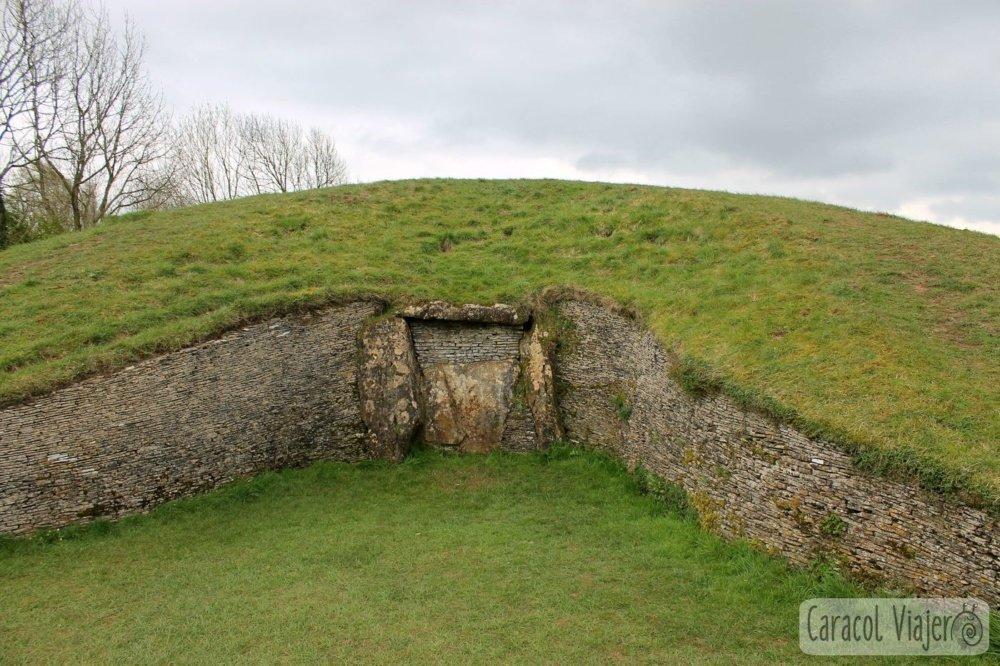 Complejo neolítico Belas Knap Cotswolds, Inglaterra