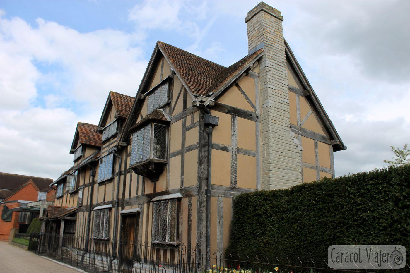 Stratford lugar de nacimiento y tumba de Shakespeare