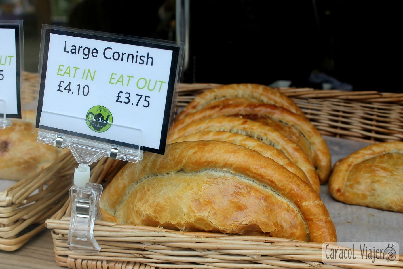 Cornish pasty, empanadilla grande. Inglaterra