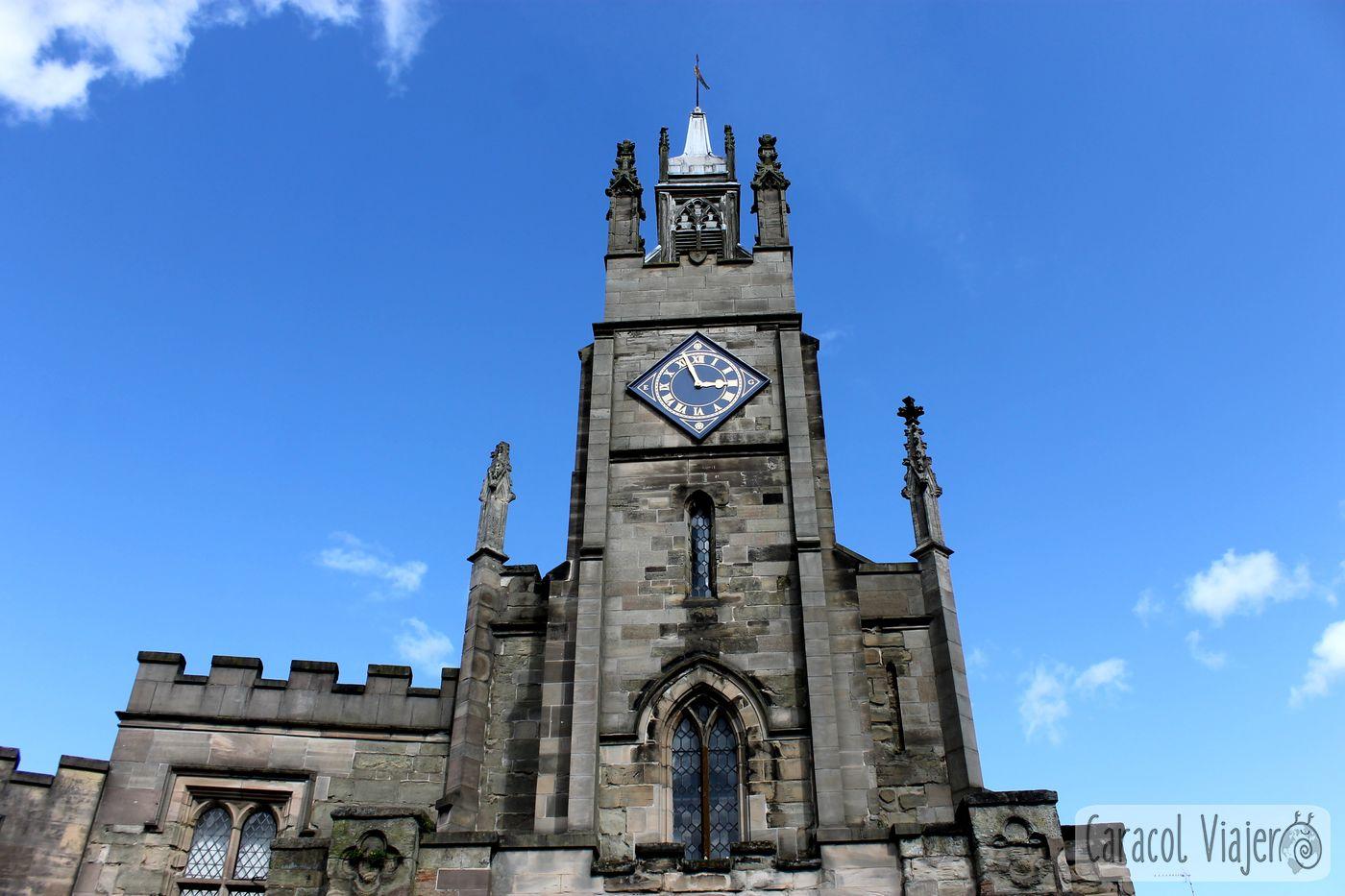 Warwick, iglesia. Cotswolds. Inglaterra