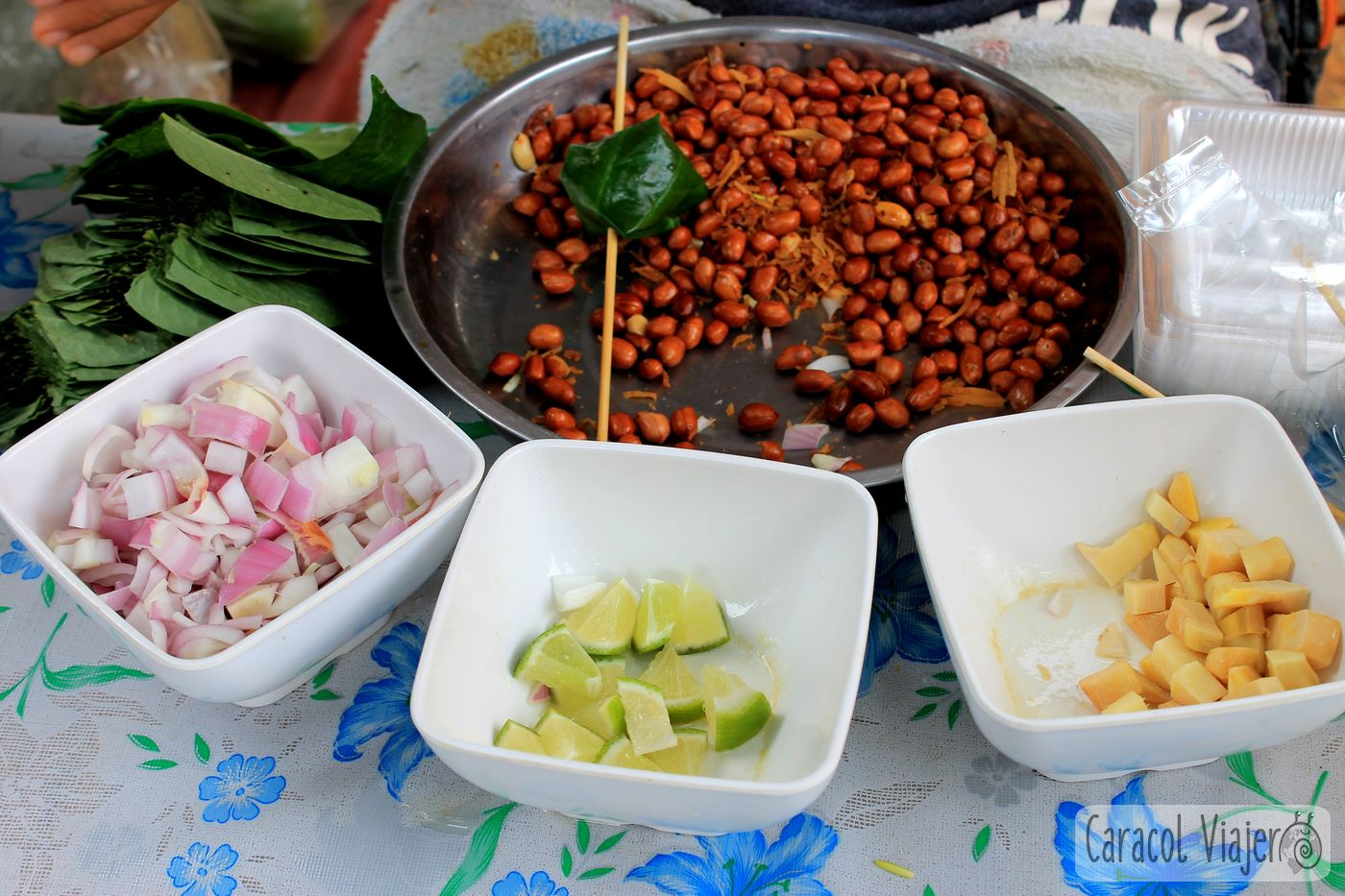 Ingredientes del Mieng Kham