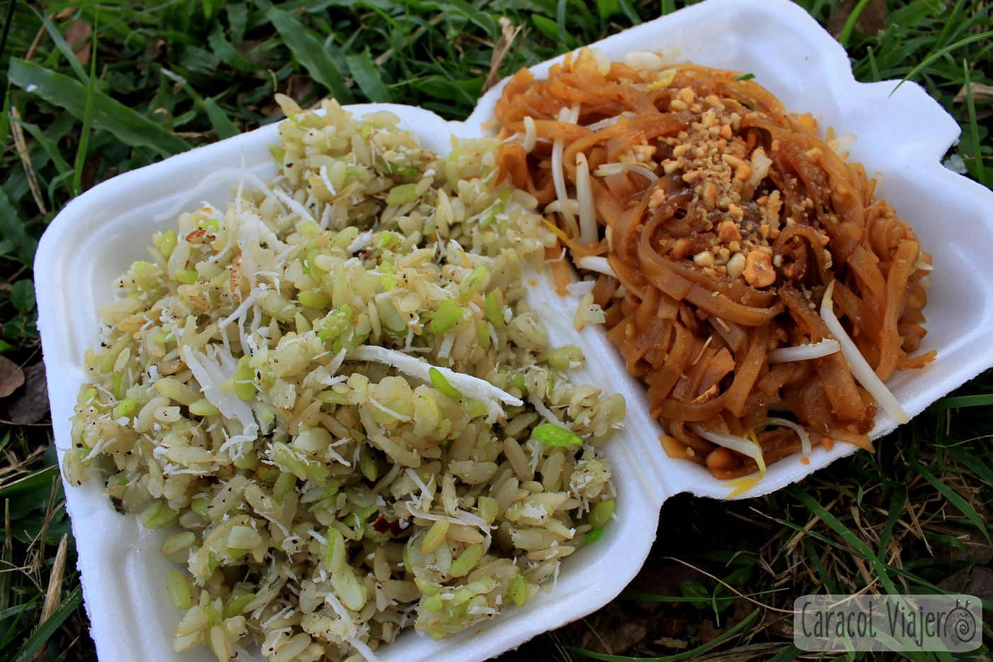Bulgur y Pad Thai