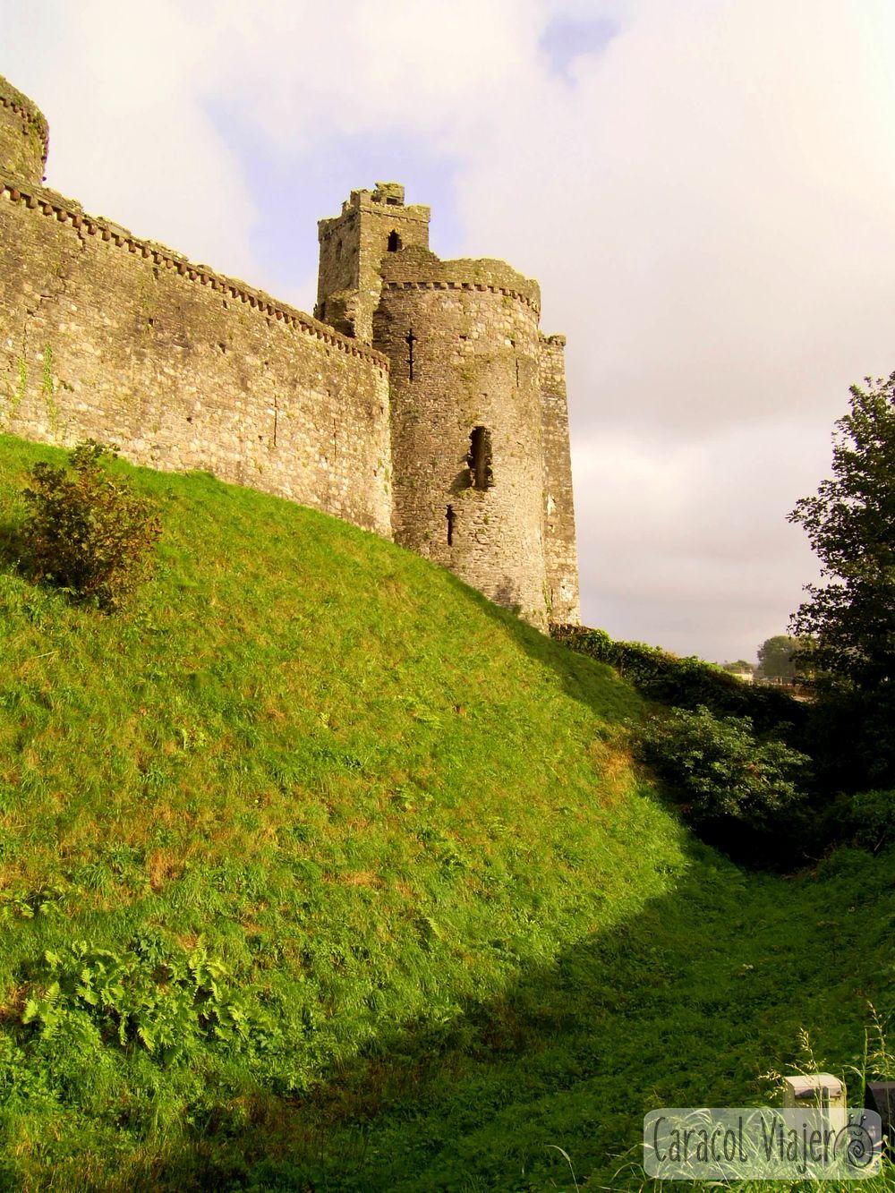 Castillo de Kidwelly Gales, Reino Unido.