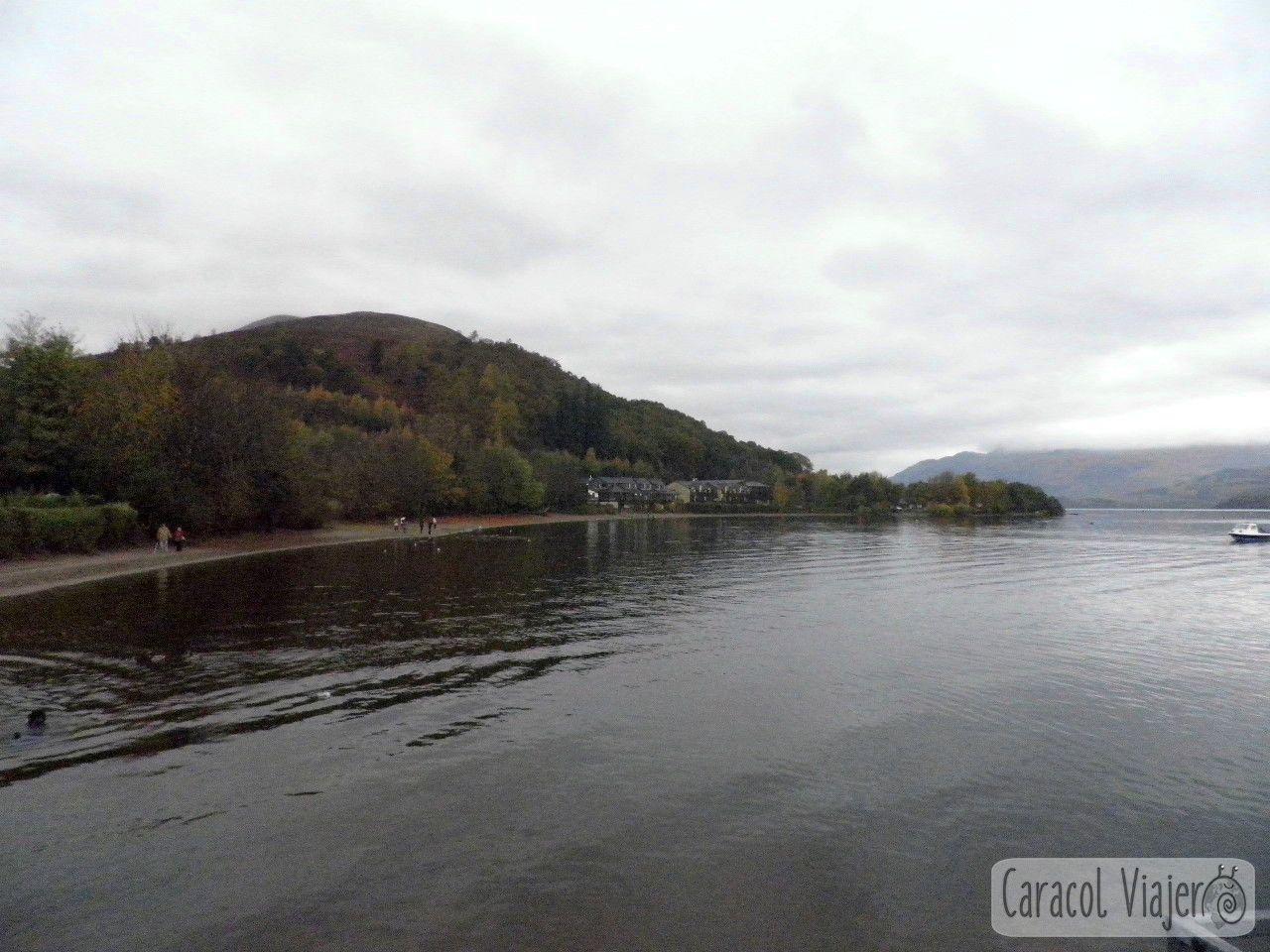 Lago Lomond, Luss. Escocia
