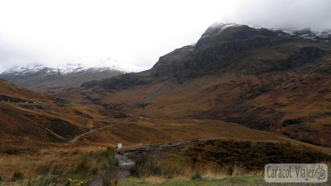 Valle Coe, Escocia