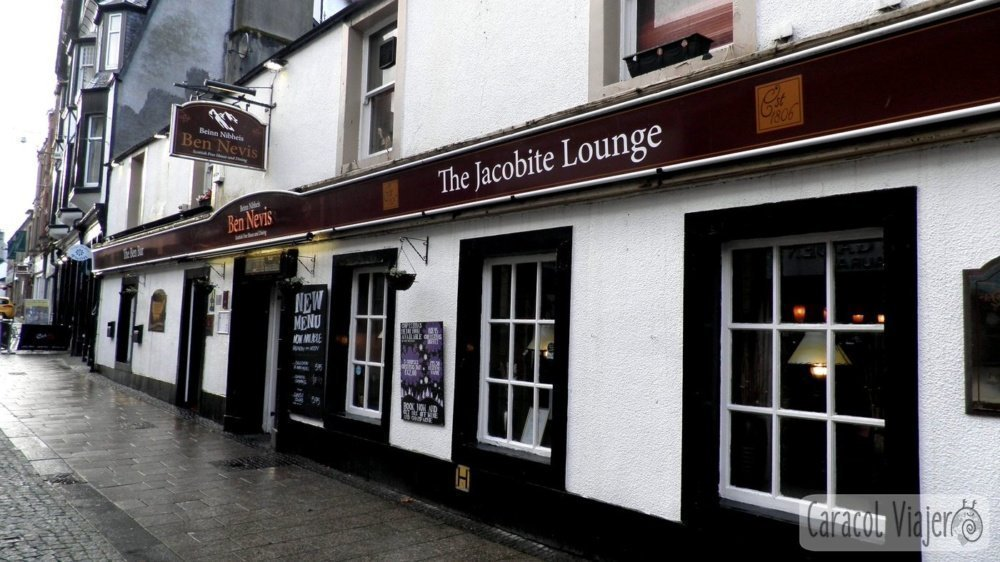 The Jacobite Lounge - Fort William. Scotland
