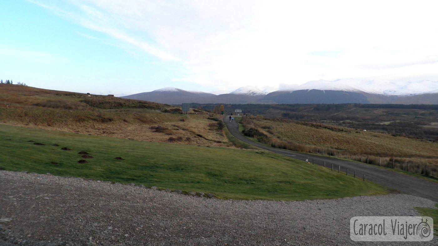 Vistas de Ben Nevis - The Commando Memorial
