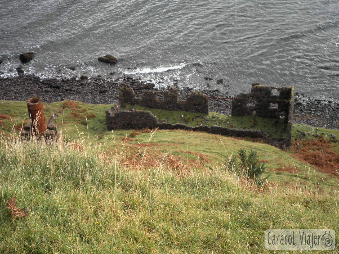 Ruinas antigua fábrica - Kilt Rock