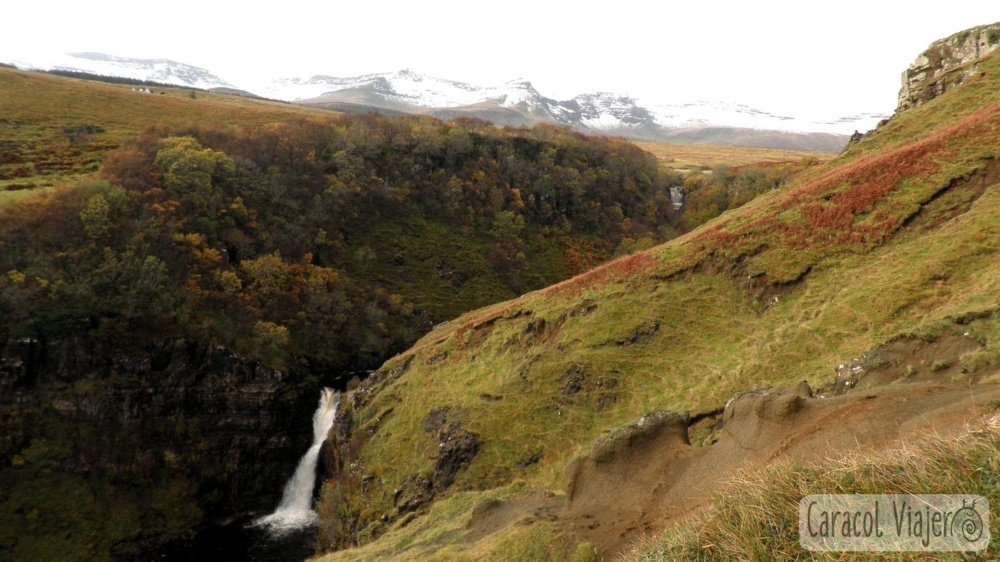 Cascadas Lealt. Escocia