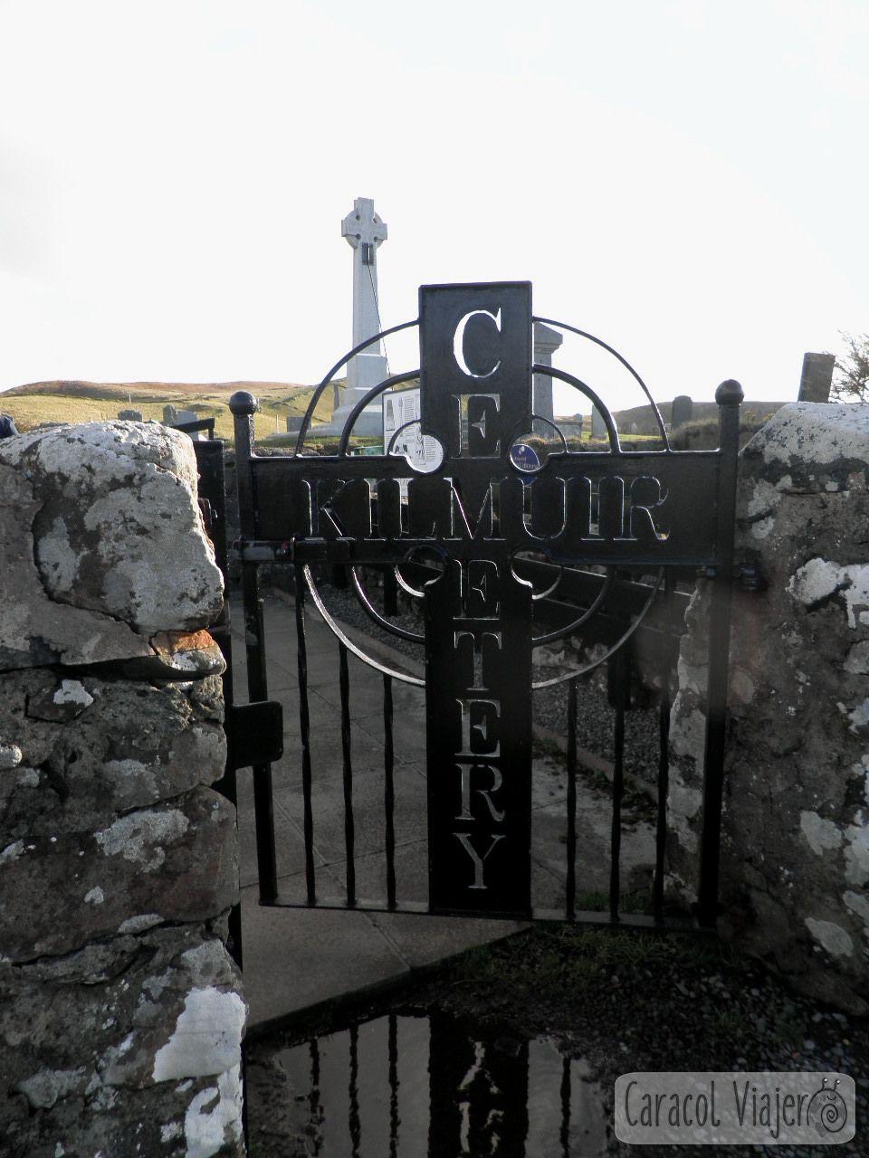 Kilmuir, cementerio. Entrada. Escocia. Isla de Skye.