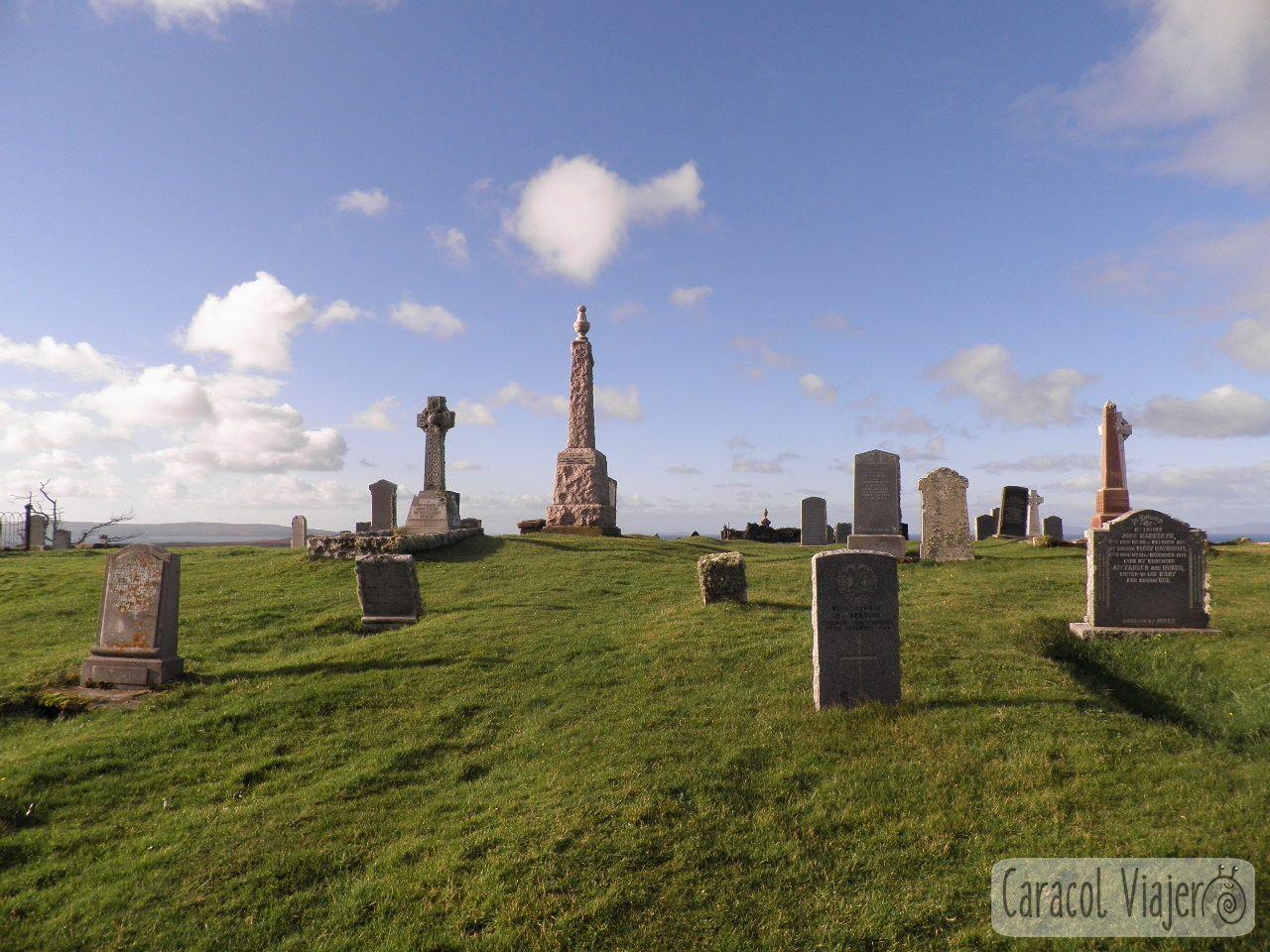 Cementerio en Kilmuir