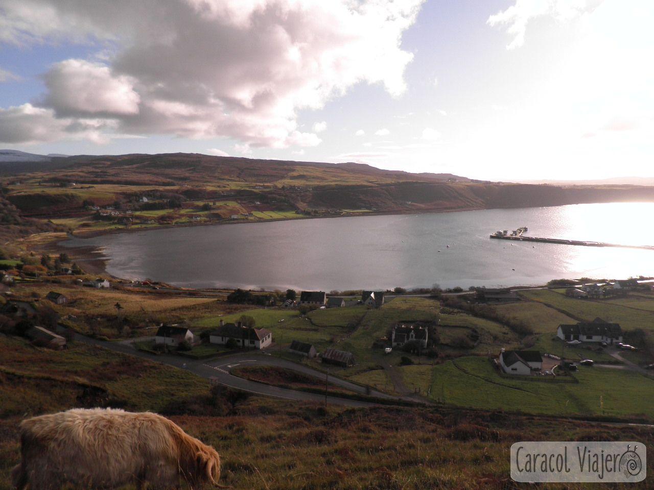 Uig, Escocia, vistas