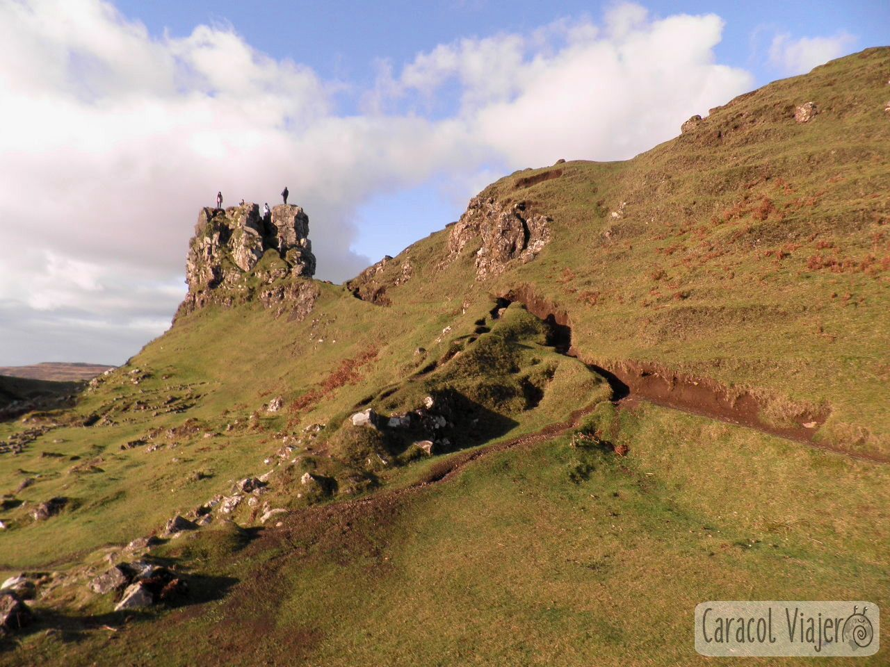 Fairy Glen, Highlands. Uig