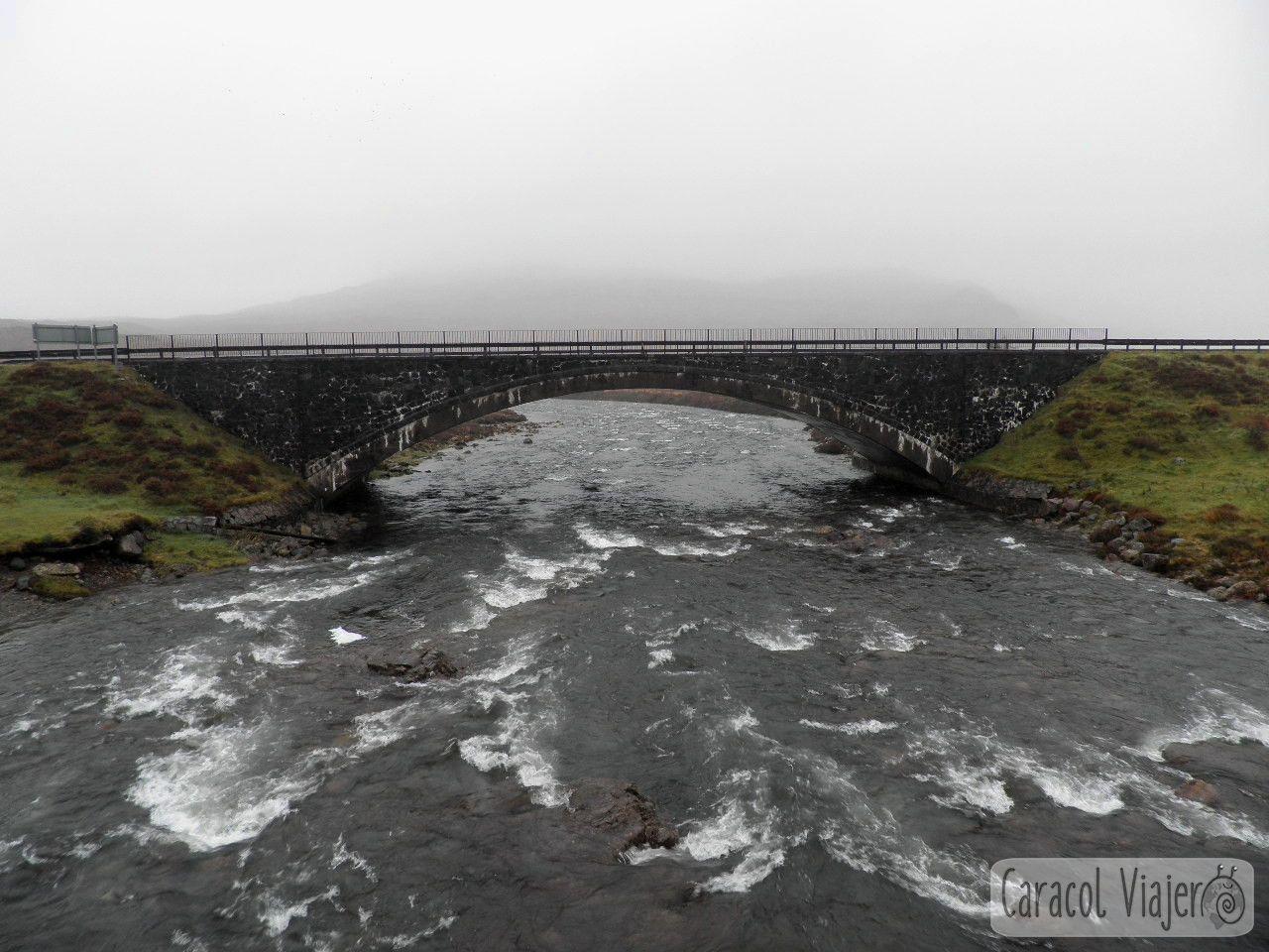 Puente de Rannoch Moor, Escocia. Highlands