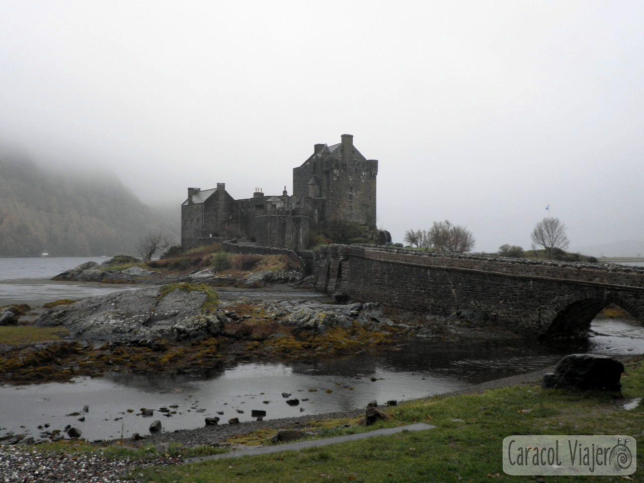 Eilean Donan Castle, castillo de los Inmortales. Escocia