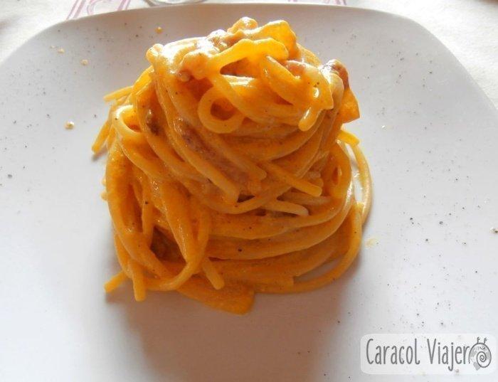 Auténticos Espaguetis Carbonara