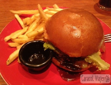 Auténtica hamburguesa americana Jack Daniels