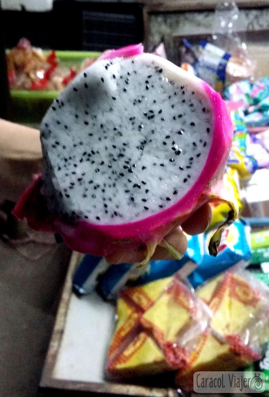 Fruta del dragón interior