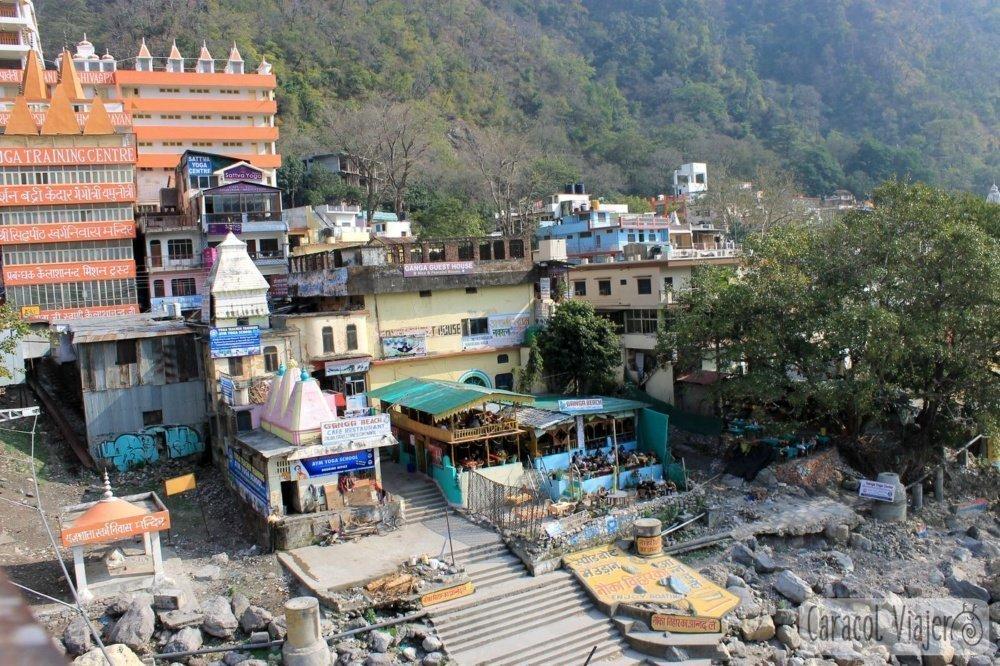 Vistas desde Laxman jhula