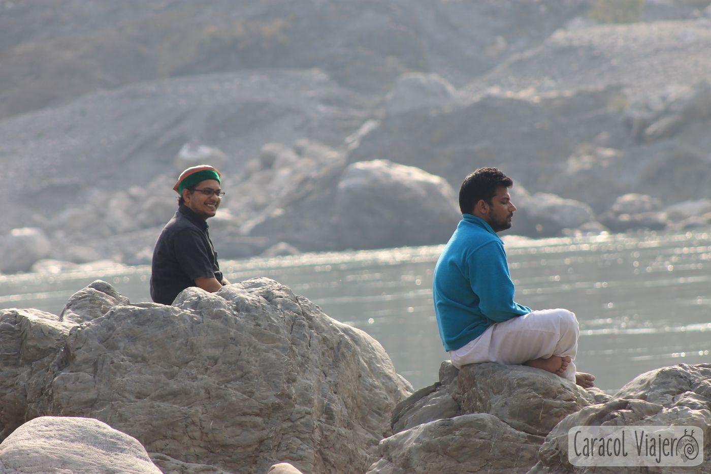 Meditar en Risikesh