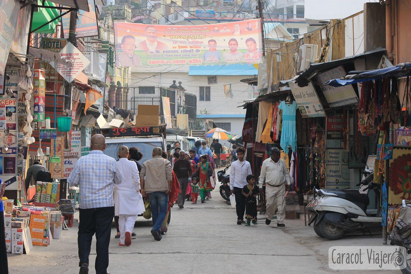 Rishikesh, India calle